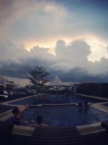 Dang derm hotel piscine rooftop Bangkok Thaïlande
