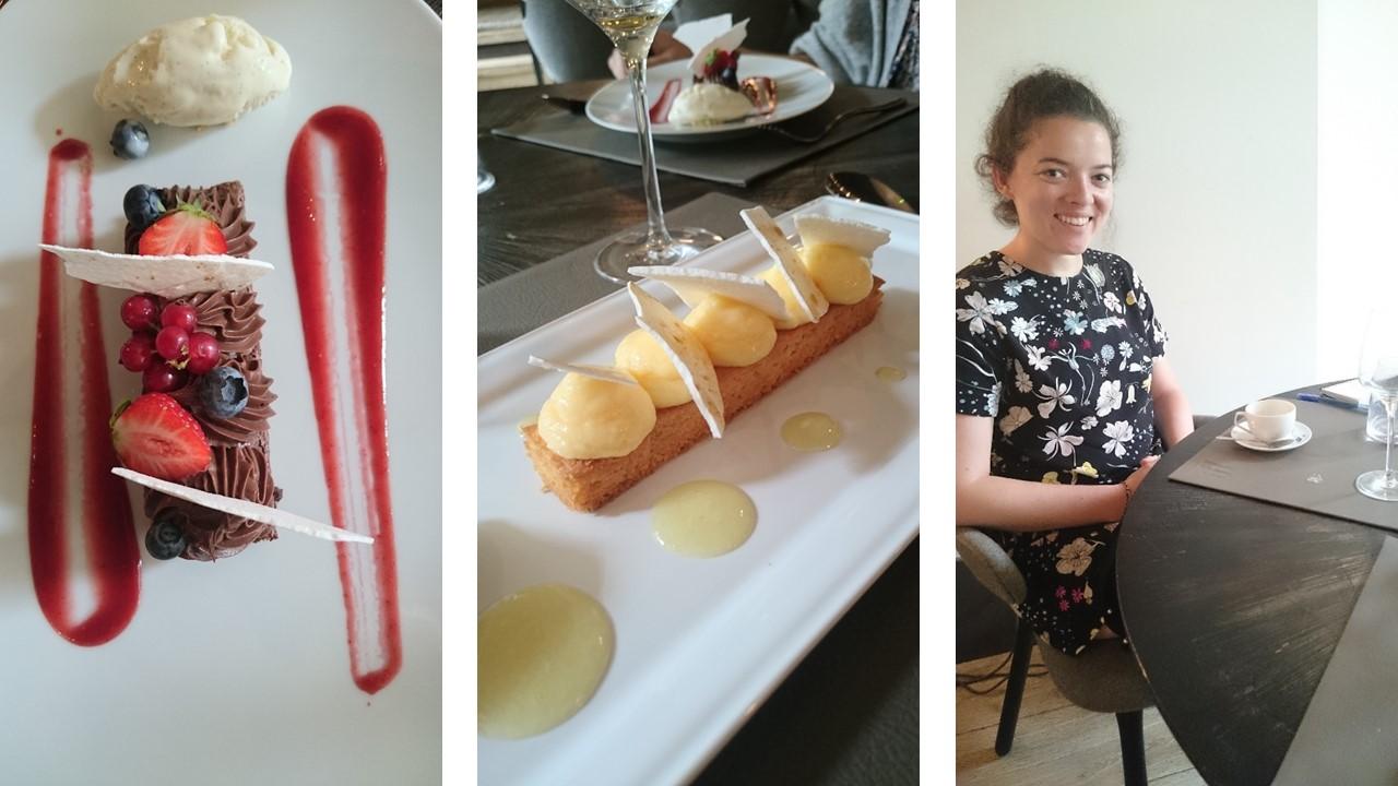 La table de Balthazar Rennes desserts