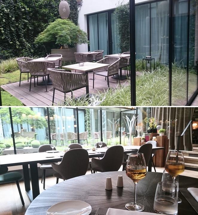 La table de Balthazar Rennes intérieur