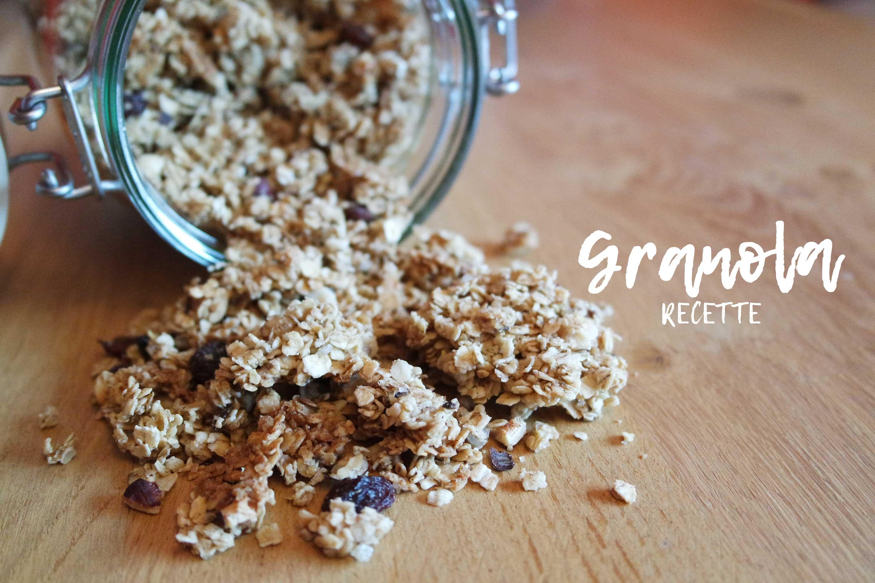 recette de granola healthy claire 39 s blog. Black Bedroom Furniture Sets. Home Design Ideas